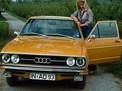 Audi 80 1972 года