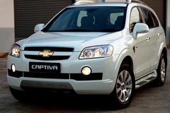 Chevrolet Captiva 2008 года