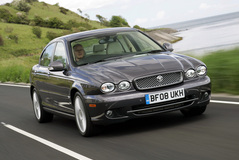 Jaguar X-TYPE 2008 года