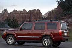 Jeep Commander 2008 года