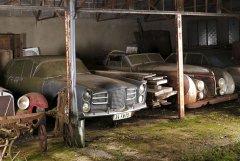 Обнаружены раритетные автомобили в сарае автолюбителя