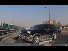 Crazy Car Crash Сompilation in Asia