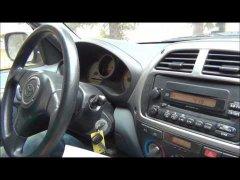Побитый Toyota RAV4